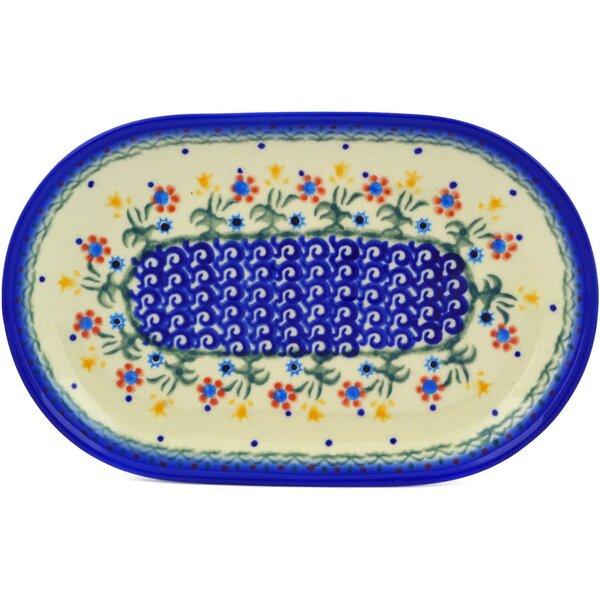 Spring Flowers Platter by Polmedia