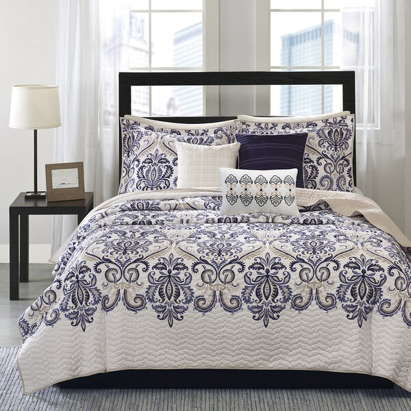 Sawyer 6 Piece Coverlet Set by World Menagerie