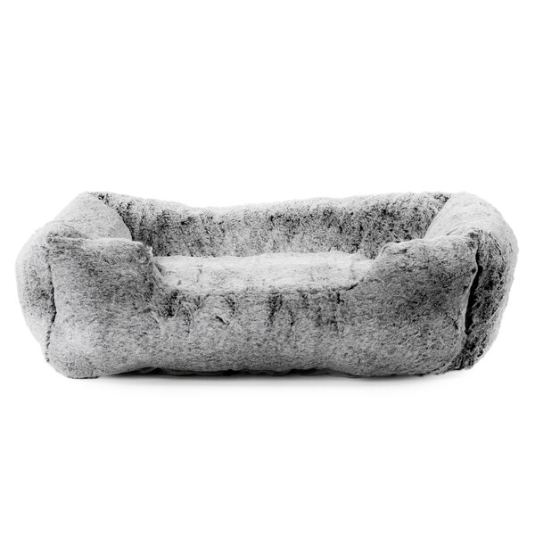 Extra Soft Plush Bolster Bed by Vanderpump Pets