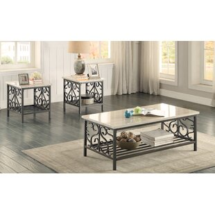 Great Price Marable 3 Piece Coffee Table Set By Red Barrel Studio