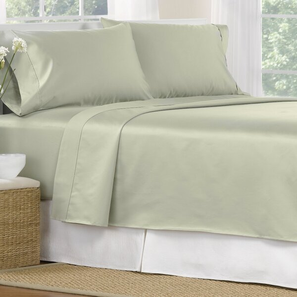 4 Piece 1000 Thread Count Egyptian Quality Cotton Sheet Set by Aspire Linens