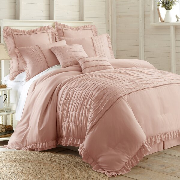 Oriane 8 Piece Comforter Set by Ophelia & Co.