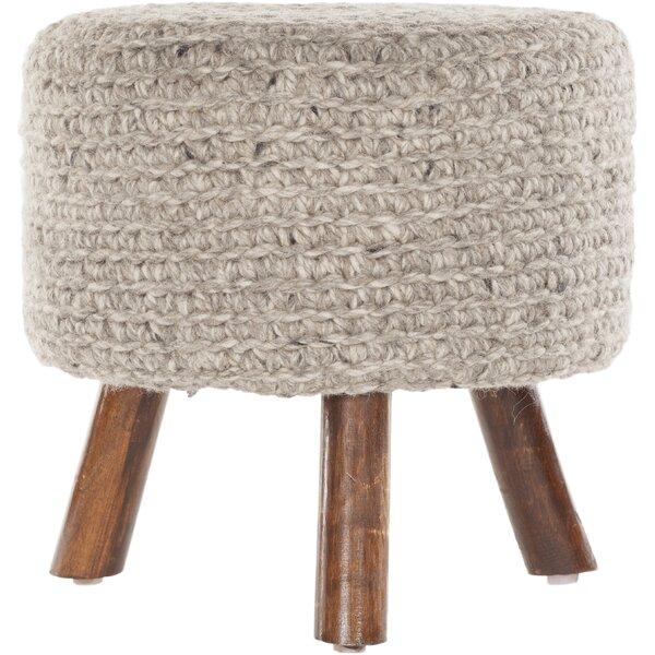Alverez Handmade Accent stool by Three Posts