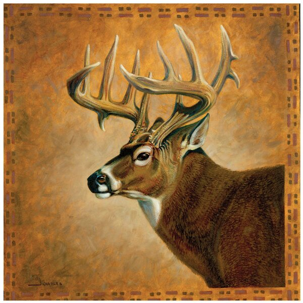 Deer Portrait Occasions Trivet by Thirstystone