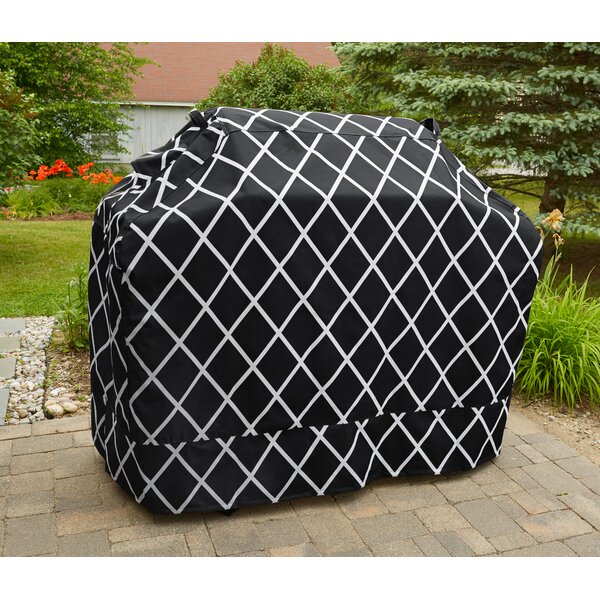 Premium Heavy Duty Waterproof Grill Cover - Fits up to 58 by Home Fashion Designs