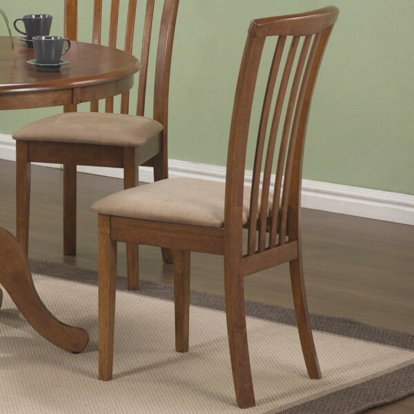 Weid Solid Wood Slat Back Side Chair (Set of 2) by August Grove August Grove