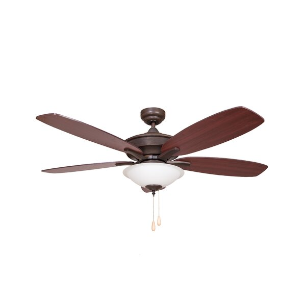52 Moriah 5-Blade Ceiling Fan by Charlton Home