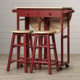 Kitchen Islands with Seating You\'ll Love in 2020 | Wayfair