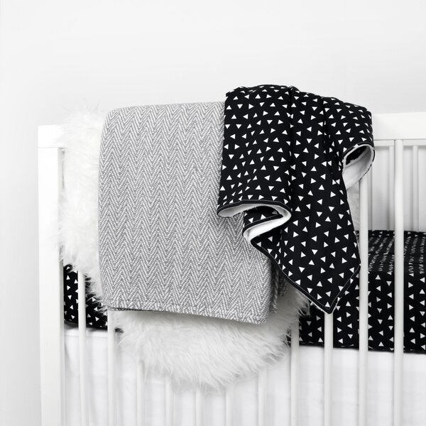 Roberts 3 Piece Crib Bedding Set by Viv + Rae