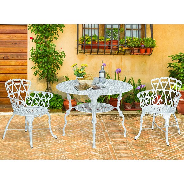 Scaggs Metal Dining Table by Bungalow Rose