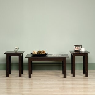 Everett 3 Piece Coffee Table Set & Modern u0026 Contemporary Coffee Table Sets Youu0027ll Love | Wayfair