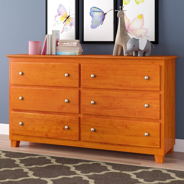 Ogie 6 Drawer Double Dresser by Viv + Rae