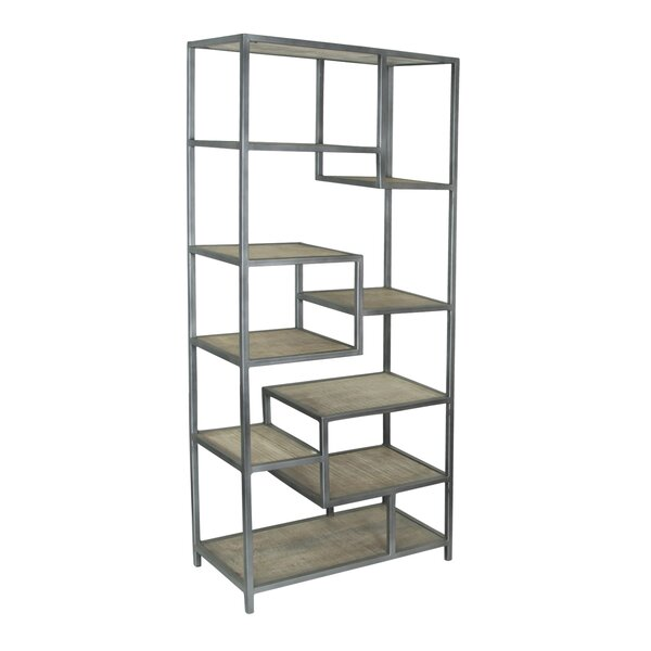 Dysart Tall Etagere Bookcase by 17 Stories
