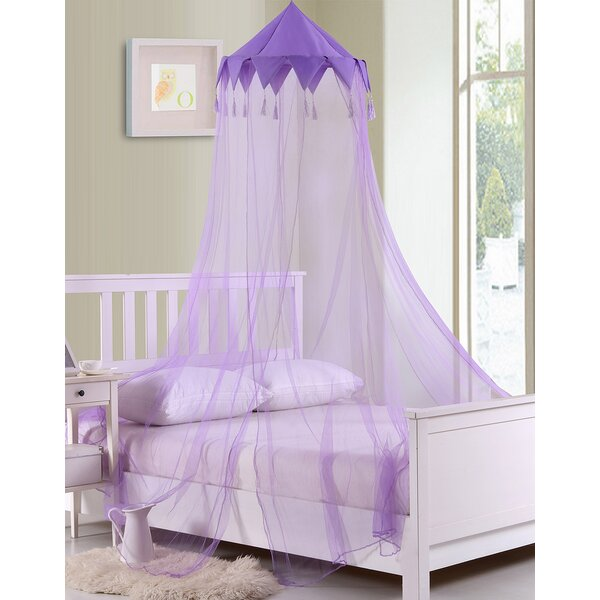 Harlequin Kids Collapsible Hoop Sheer Bed Canopy by Casablanca Kids