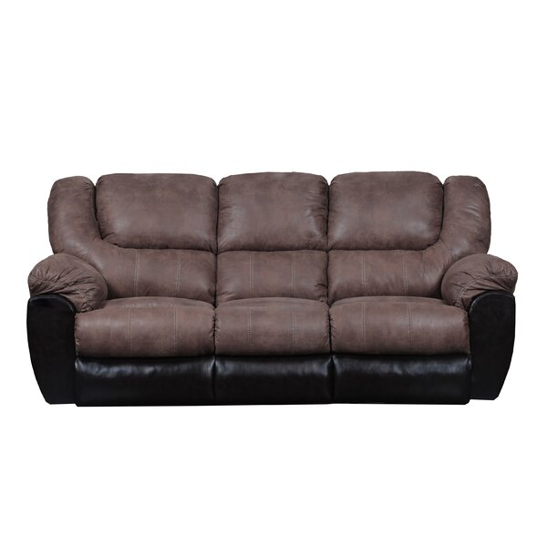Simmons Upholstery Derosier Reclining Sofa by Darby Home Co