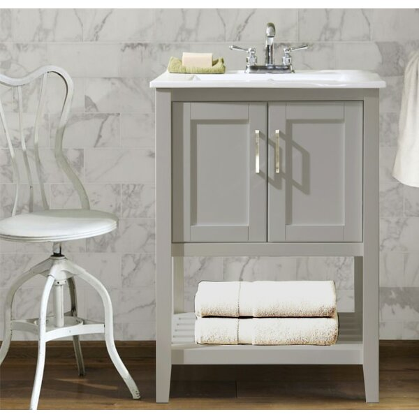 Appalachia 24 Single Bathroom Vanity Set by Charlton Home