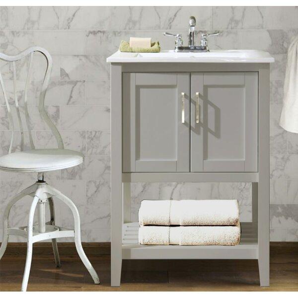 Appalachia 24 Single Bathroom Vanity Set by Charlton Home
