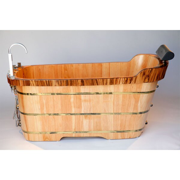 59 x 27 Soaking Bathtub by Alfi Brand