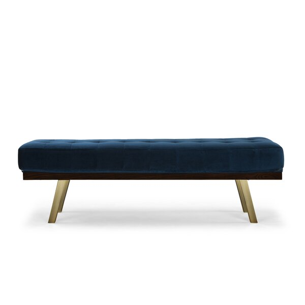Boris Upholstered Bench by Orren Ellis