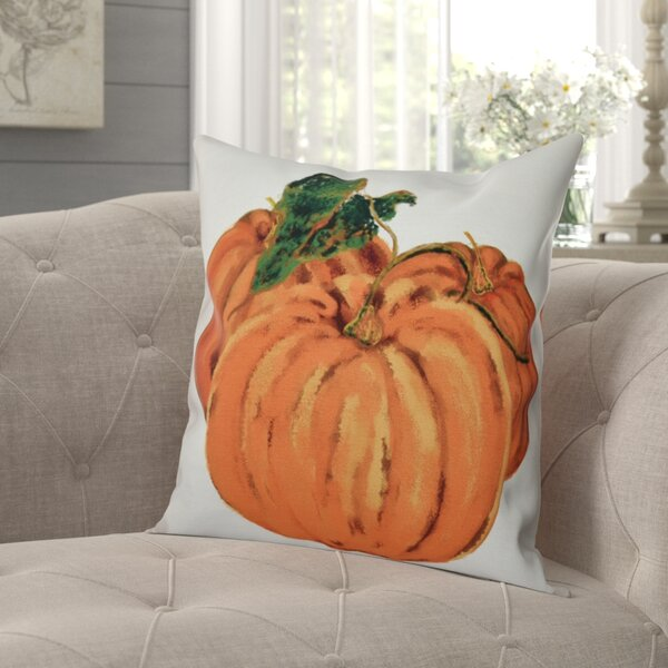 Rossiter Tres Calabazas Holiday Print Outdoor Throw Pillow by August Grove