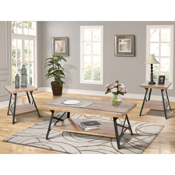 Dade 3 Piece Coffee Table Set by 17 Stories