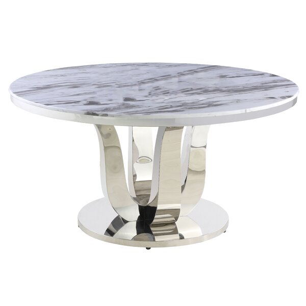 Kevan Dining Table by Everly Quinn Everly Quinn