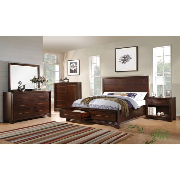 Catania Storage Platform Configurable Bedroom Set by Fairfax Home Collections