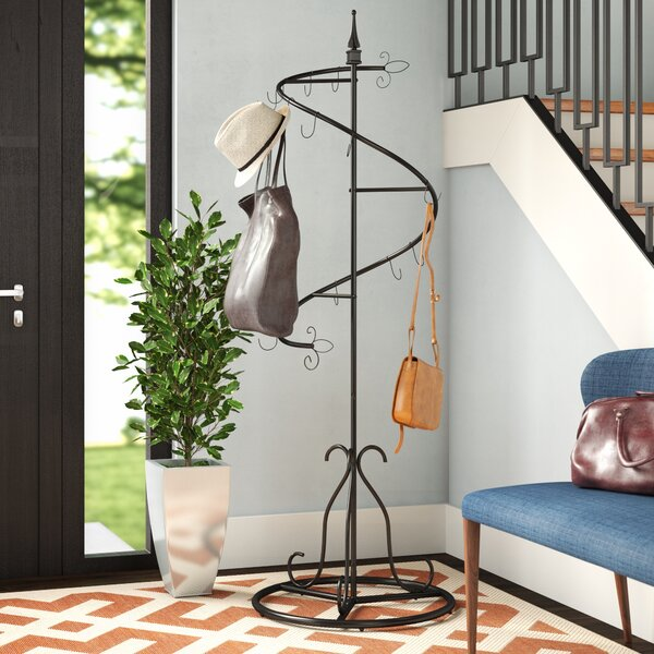 Spiral Purse Tree Coat Rack by Ebern Designs