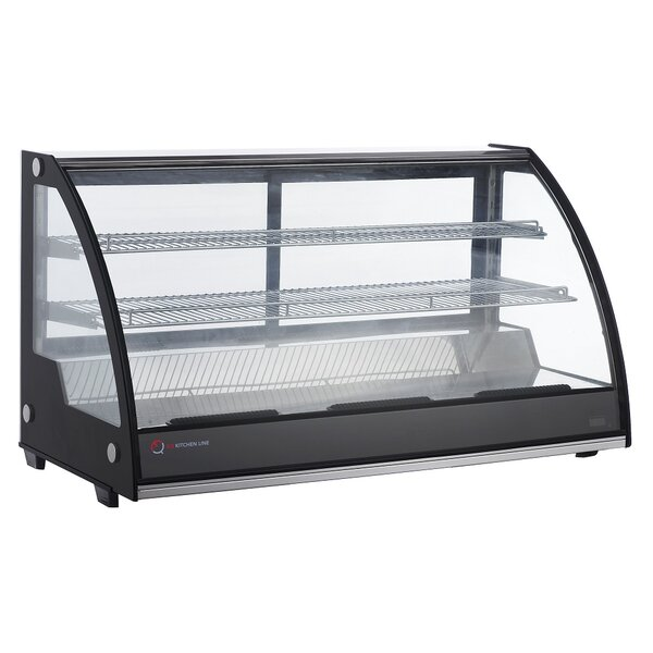 Commercial Countertop 7.1 cu. ft. Bakery Display Case with LED Light by EQ Kitchen Line