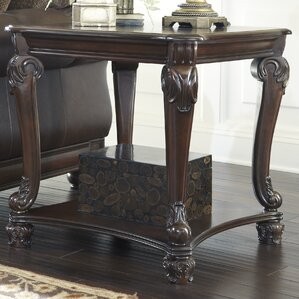 Chancery End Table by Astoria Grand