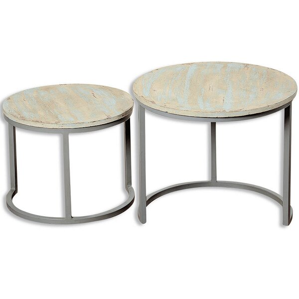 Maggio 2 Piece Nesting Tables by Highland Dunes