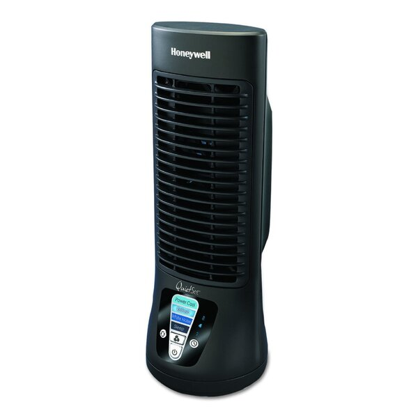 Quietset Mini 13 Oscillating Tower Fan by Honeywell
