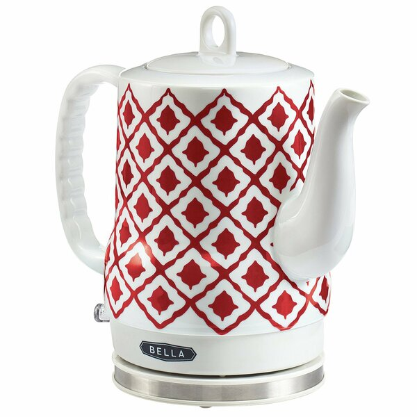 Bella 1.2 Qt. Ikat Electric Tea Kettle by Sensio
