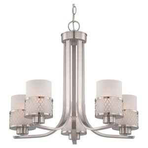 Lofton 5-Light Shaded Chandelier