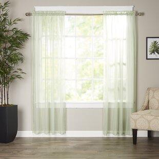 Greatest Sage Green Sheer Curtains | Wayfair AJ15