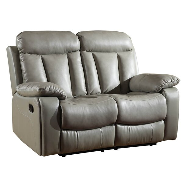 Low priced Ullery Reclining 63 Pillow top Arm Loveseat by Winston Porter