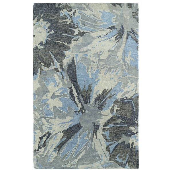 Virginis Grey Area Rug by Latitude Run