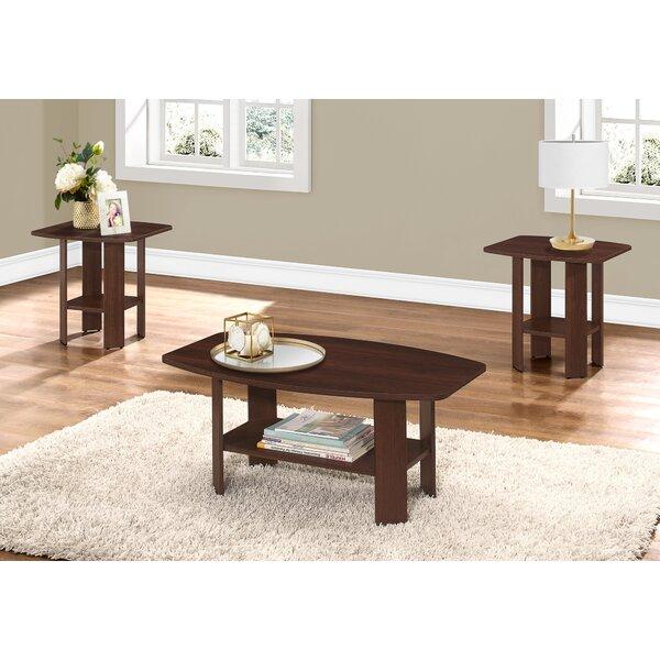 Bungay 3 Piece Coffee Table Set by Winston Porter Winston Porter