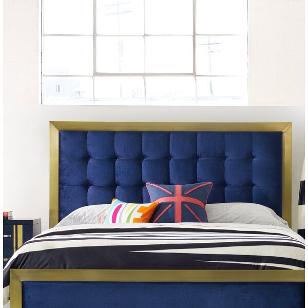 Balthazar King Upholstered Panel Headboard by Cynthia Rowley