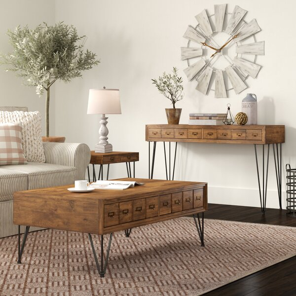 Bayle 3 Piece Coffee Table Set by Laurel Foundry Modern Farmhouse Laurel Foundry Modern Farmhouse