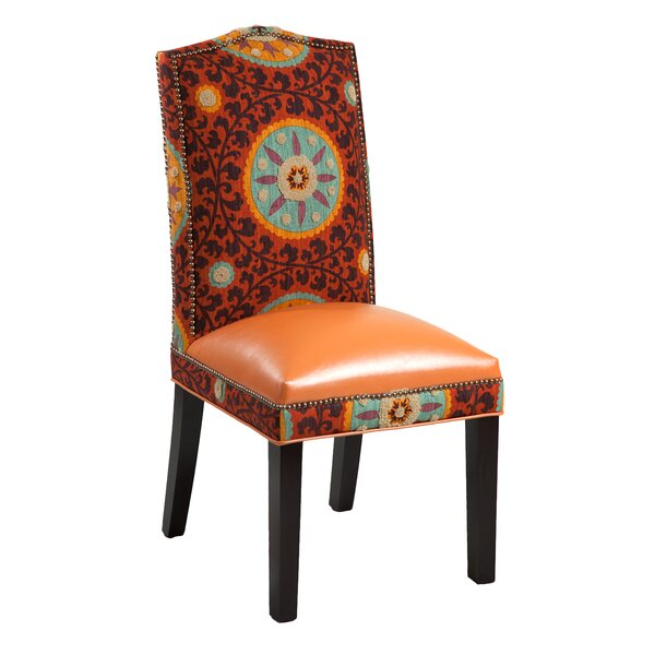 Gabrielle Cotton Parsons Chair (Set of 2) by Loni M Designs