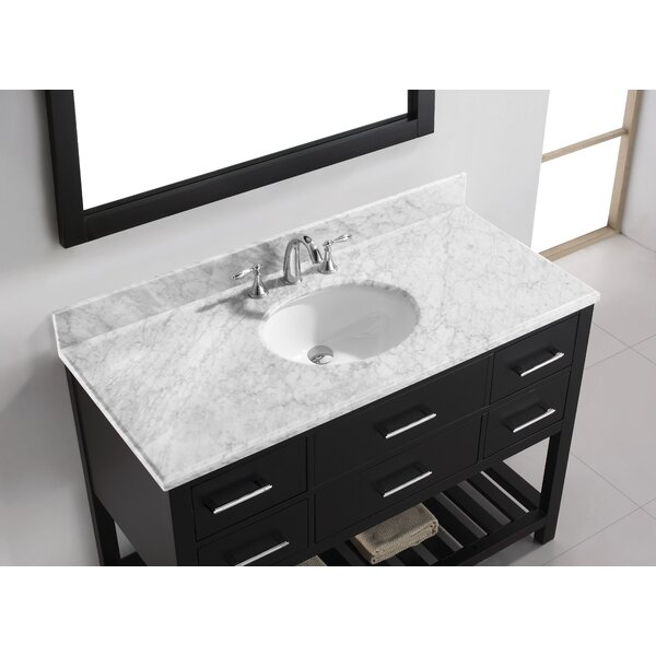 Rishaan 49 Single Bathroom Vanity Set with Mirror by Willa Arlo Interiors