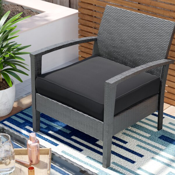Pellot Corded Indoor/ Indoor/Outdoor Dining Chair Cushion