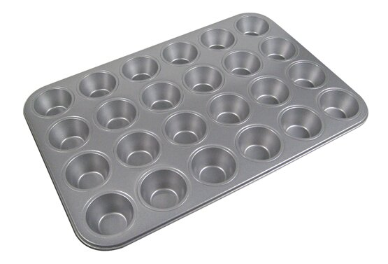 La Patisserie 24 Cup Non-Stick Muffin Pan by MyCuisina