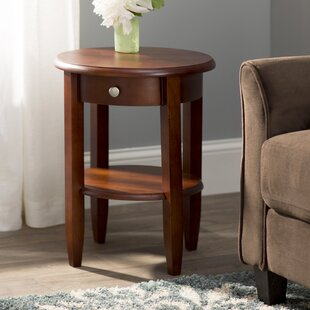 Braeswood End Table by Charlton Home