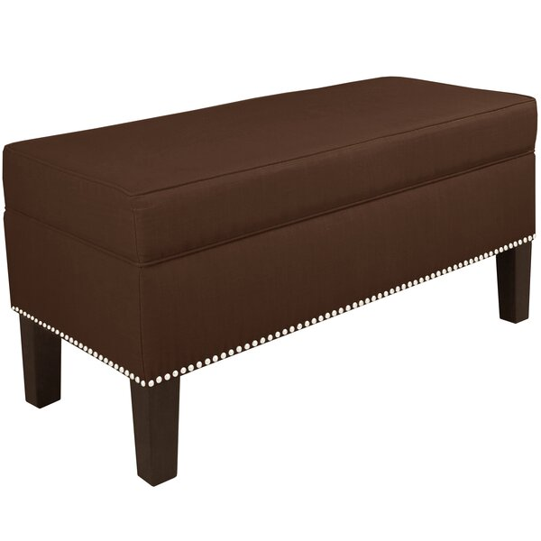 Linkwood Upholstered Storage Bench by Latitude Run