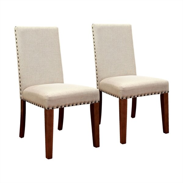 Shearer Upholstered Dining Chair (Set of 2) by Gracie Oaks Gracie Oaks