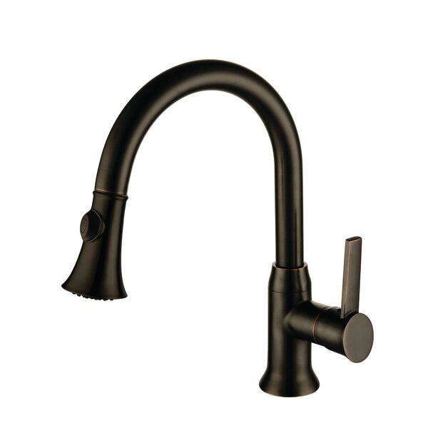 Single Handle Kitchen Faucet by Yosemite Home Decor