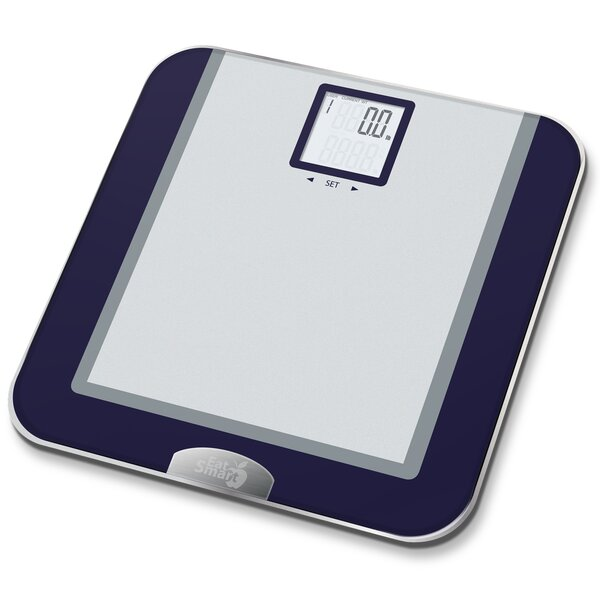 Precision Tracker Digital Bathroom Scale by EatSmart