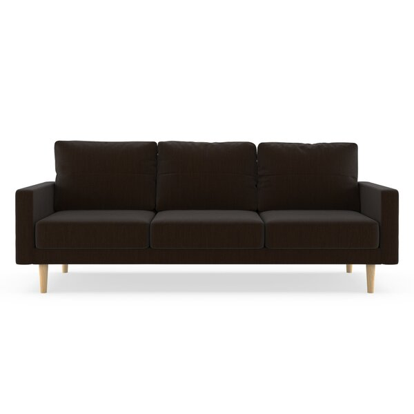 Schiffer Satin Weave Sofa by Orren Ellis